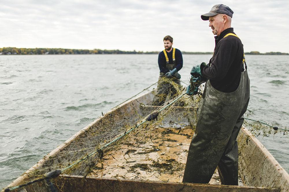 photo d'un projet de pêche sur le fleuve st-laurent par maggieboucherphoto